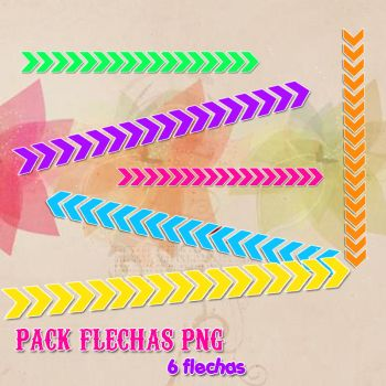 PACK FLECHAS PNG. by heymyidols