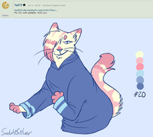 Palette Challenge #8 by SalukiSilver