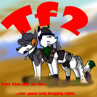 Tf2 with Texan by Shardx3