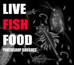 Live Fish Food brushes by The-Mattness