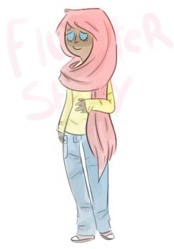 Fluttershy by Floral-print-boots