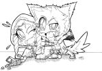 Chibi Red Riding Hood and The Big Bad Wolf! :3 by shannonxnaruto