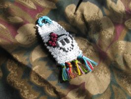 Cute Skull Key Chain by Inemiset