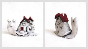 Magical snail by valvish