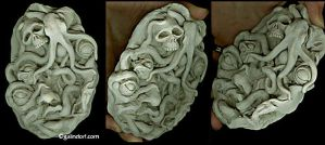 Experiment-Sketch in Clay by Galindorf