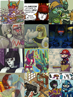 Icon Mosaic 4 by Humblebot