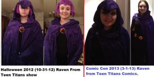 My Raven Cosplays by SeraphinaPitchiner