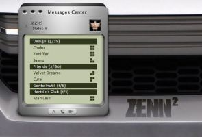 Messages Center: Zenn by Jaziel