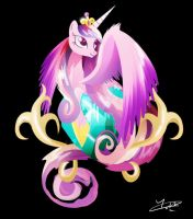 Princess Cadance by Ilona-the-Sinister