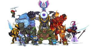 Skylanders giants by NitendoFan92