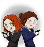 Hill and Romanoff by BowtieMySoul