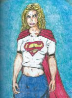 Supergirl in Pencil (2002) by storyteller1023