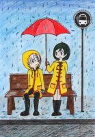 Under my Umbrella -request- by JaneDavolta