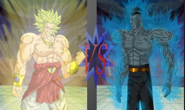 broly vs toguro by alleckx