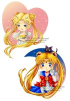SAilor Chibis 1 by Cientifica