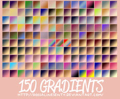 150 Gradients by rossalinesenty