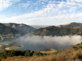 Lake Mist by OneofakindKnight