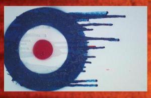 Mod Target Painting - 59.00 by Hodgy-Uk
