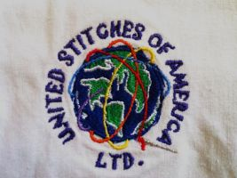United Stitches of America logo designed by me! by Saablym
