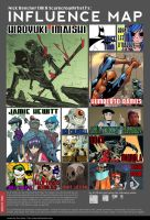MY Influence Map by ScarecrowArtist