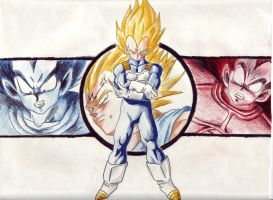 Vegeta by zims-lost-soul