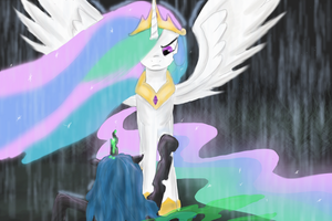 Celestia's wrath by AtomicWarpin