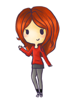 Amy Pond by Clawissa