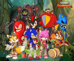 Sonic Boom Wallpaper by Silverdahedgehog06