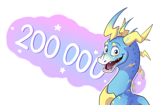 200 000 Pageviews by IcelectricSpyro