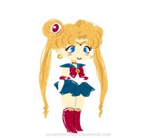 Sailor Moon by lujus