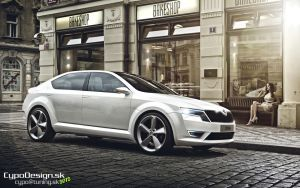 Skoda Octavia 2013 by CypoDesign