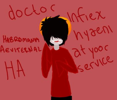 doctor infiex hyaeni by VexingPrince
