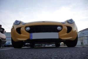 Lotus Elise S big grin by theTobs