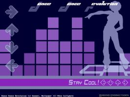 DDR Wave wall blue by mikero