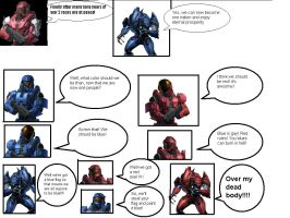 Red Vs Blue: How the War Began by Suruma