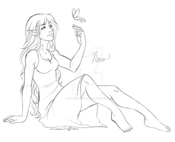 AT WIP - Nero at Rest by LadyZolstice