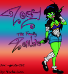 Zoey the Zombie by Ecchi-Lion