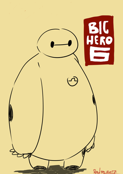 Baymax by TheRACOONIST