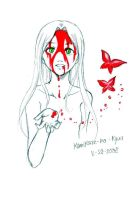 Bleeding Butterflies by KamiKaze-no-Ryuu