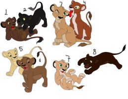 Lion adopts by s2aninhas2