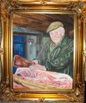 Dai the butcher. by garykeeling