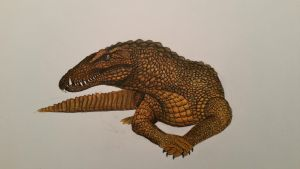 Argeliasuchus acer by spinosaurus1