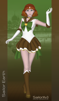 Naru as Sailor Earth by DianaHold