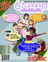 6TEEN MAGAZINE sample cover 2 by daanton