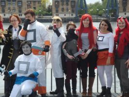Yogscast Cosplay Lineup - Yogmeet 2013 by TheWorldEndsWithAxel