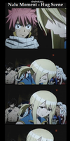 Why NATSU hugs LUCY in THE MOVIE! (screenshots) by felixne