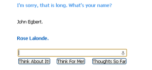 I was on Cleverbot... by miasmaticApplecider