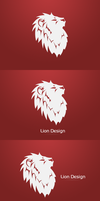 Lion Design Logo Concept by FluidStudios