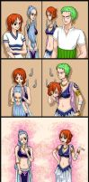 Nami And Zoro Become Vivi And Nami  Request  By Ky by AndrewWong