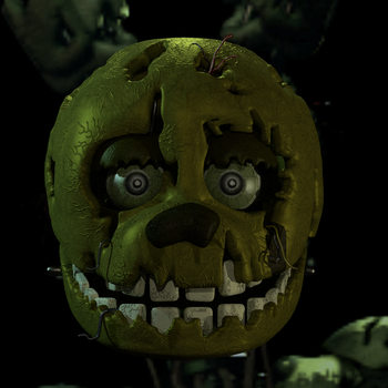 FNaF 3 Springtrap early WIP by Michael-V